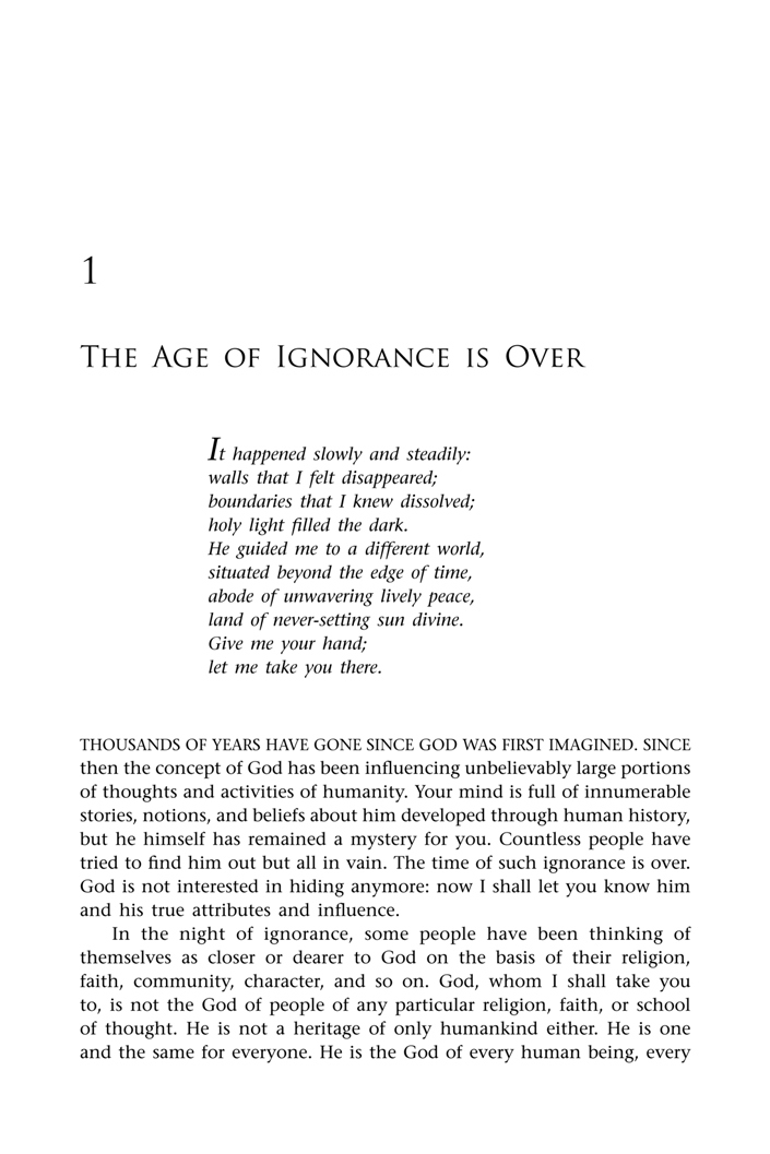 first page < first chapter < God and Destiny