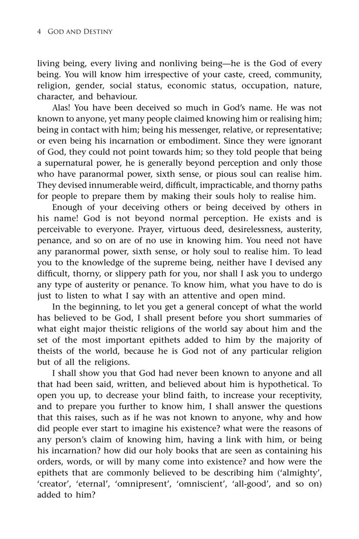 second page < first chapter < God and Destiny