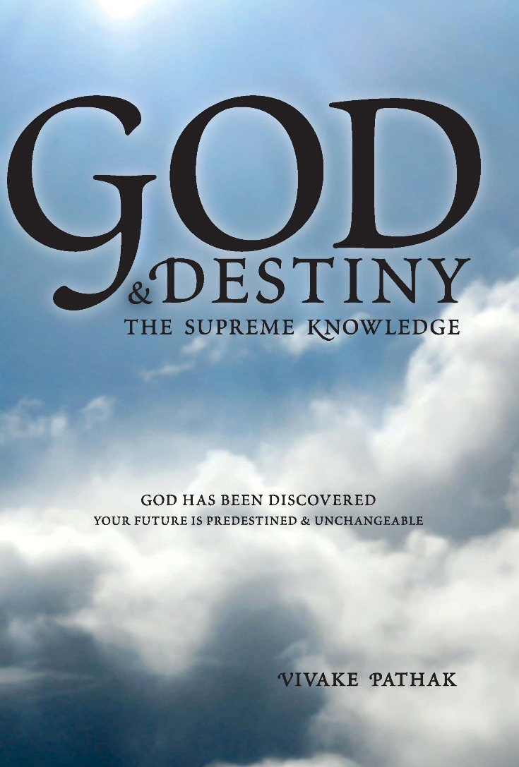 full-size front cover of God and Destiny